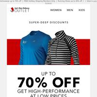 Super-Deep Discounts on High-Performance Wear