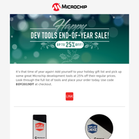 Enjoy 25% Off with Our Dev Tools End-of-Year Sale