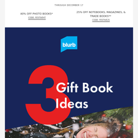 Top 3 Gift Books to Make