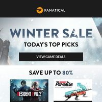 1000+ PC game deals | More big savings added to the Winter Sale