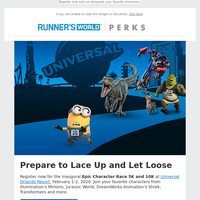 Running Universal Presents the First Ever Epic Character Race