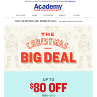 Stock Up on Gifts with the Christmas Big Deal