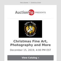 Christmas Fine Art, Photography and More | White Knight Auctions