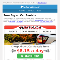 Don't Miss These Great Car Rental Deals