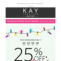 🎅 By Golly, Be Jolly! 25% Off Everything
