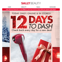 Ends Tonight! 50% Off BaBylissPRO Full Size Styling Tools 12 Days To Dash Deal