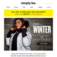 ❄️ {NAME}, your winter style guide is here!
