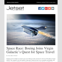 Jetset Mag Presents: Space Race, Luxury Train Travel, Sustainable Fashion, and More From Our Partners