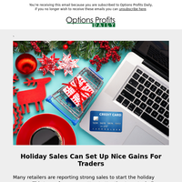 Black Friday And Cyber Monday set up potential gains for traders