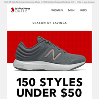 Gift Inspiration for the Holidays (100's of shoes under $50)