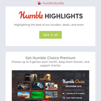 This week at Humble: Tons of sales, data science, software bundles, and more!