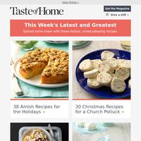 38 Amish Holiday Recipes