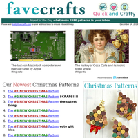 21 Christmas Patterns for the Most Wonderful Time of the Year