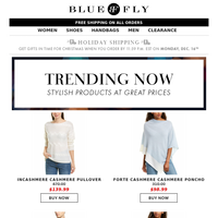 Bluefly - Cozy Cashmere! Styles We Love