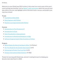 Your 2019 DataCamp review 🚀