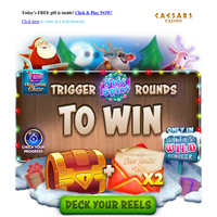 🦌🦌 Free Spin with Santa's Wild Reindeer to WIN 🔽🔽