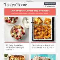 30 Overnight Breakfast Recipes