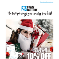 ⌛ Last minute gift idea: Vouchers reduced by 10% 🎁, {NAME}!