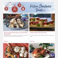 WARNING: Christmas Lunch Spoiler Alert   Spectacular Celebration Pavlova Grazing Board   Candy Cane Slushies For Grown-Ups   Our Favourite Festive Dessert   Ham Leftover Tips