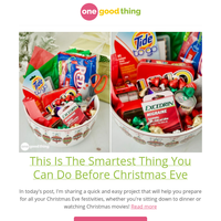 This Is The Smartest Thing You Can Do Before Christmas Eve