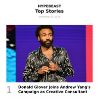 This Week's Top Stories: Donald Glover Joins Andrew Yang's Campaign as Creative Consultant and More