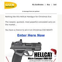 Hellcat Handgun Giveaway LIVE CHRISTMAS EVE! (get in now)