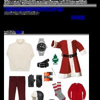 Dappered   Style Scenario: Santa on Christmas Eve