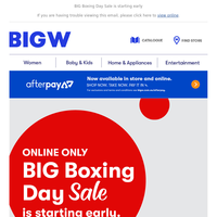 Early Access Boxing Day Deals