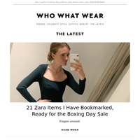 21 Zara items I have bookmarked for the big Boxing Day sale