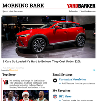 Reindeer games: Battle of LA leads NBA quintet