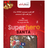 Abhibus brings you Super Hero Santa - Merry Christmas