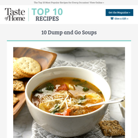 Dump and Go Soups