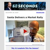 Santa Delivers a Market Rally