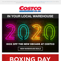 NEW Warehouse Offers Start TODAY! + Boxing Day Continues!