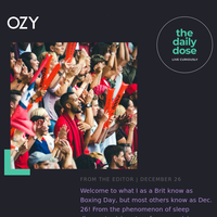 A Boxing Day Special: Arts & Entertainment From OZY
