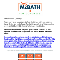 keeping GA-06 blue is going to require a huge week of fundraising before New Year's eve, and I'm going to need your help {NAME}