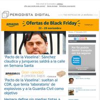 Pacto de la Vaselina: Sánchez claudica y Junqueras saldrá a la calle en Semana Santa