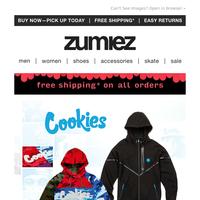 NEW Cookies, Santa Cruz & Vans + New Year SALE