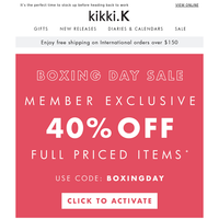 {NAME}, Have you shopped our Boxing Day Sale yet?