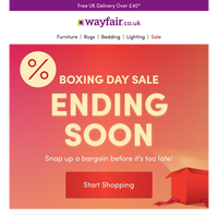🎁 Boxing Day 🎁  is EXTENDED