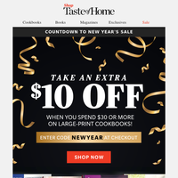 New Year Offer!  $10 Discount Super Sale!