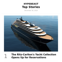 Top Stories This Week: The Ritz-Carlton's Yacht Collection Opens Up for Reservations and More