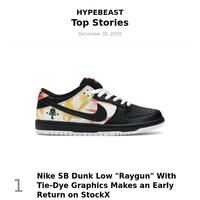 Top Stories This Week: Nike SB Dunk Low \