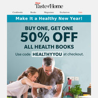 What the Health? BOGO 50% OFF Health Books