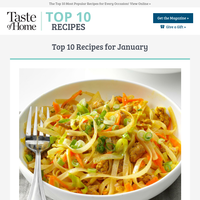 January's BEST Recipes