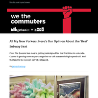 The Best Subway Seat