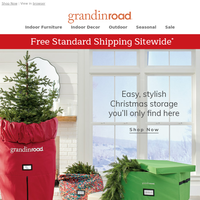 EZ Christmas storage, from $24 (+Free Ship today). Shop Now.