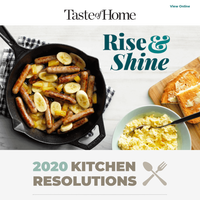 Breakfast resolutions. A goal you can keep!