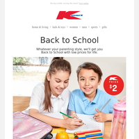 Get your kid's back to school sorted!