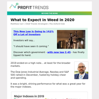 What to Expect in Weed in 2020
